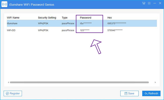 get all WiFi passwords saved on Windows