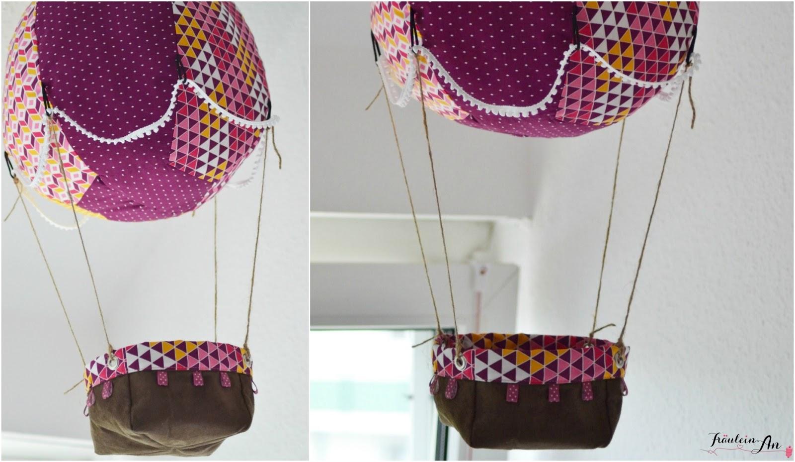 Fräulein An: Heißluftballon für's Kinderzimmer
