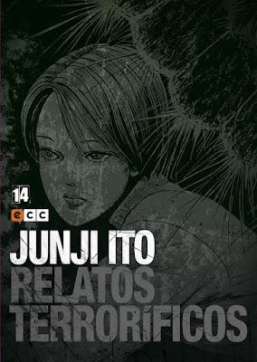 Relatos Terroríficos vols 11, 12, 13 y 14 de Junji Ito - ECC Ediciones