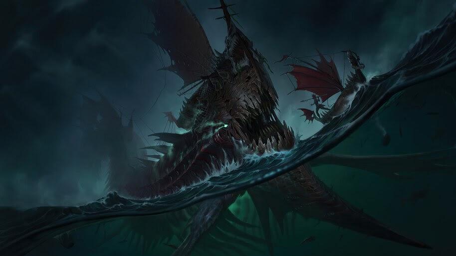 Terror of the Tides, Legends of Runeterra, 4K, #3.1700