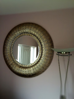 Silver Mirror in the Entrance of C & B Therapy, Portlaoise