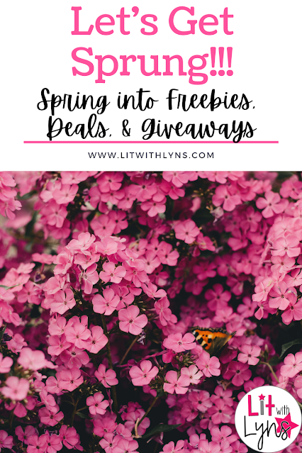 Spring Into Deals, Freebies, & Giveaways