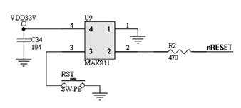 Mini2440 Reset System Circuit Diagram