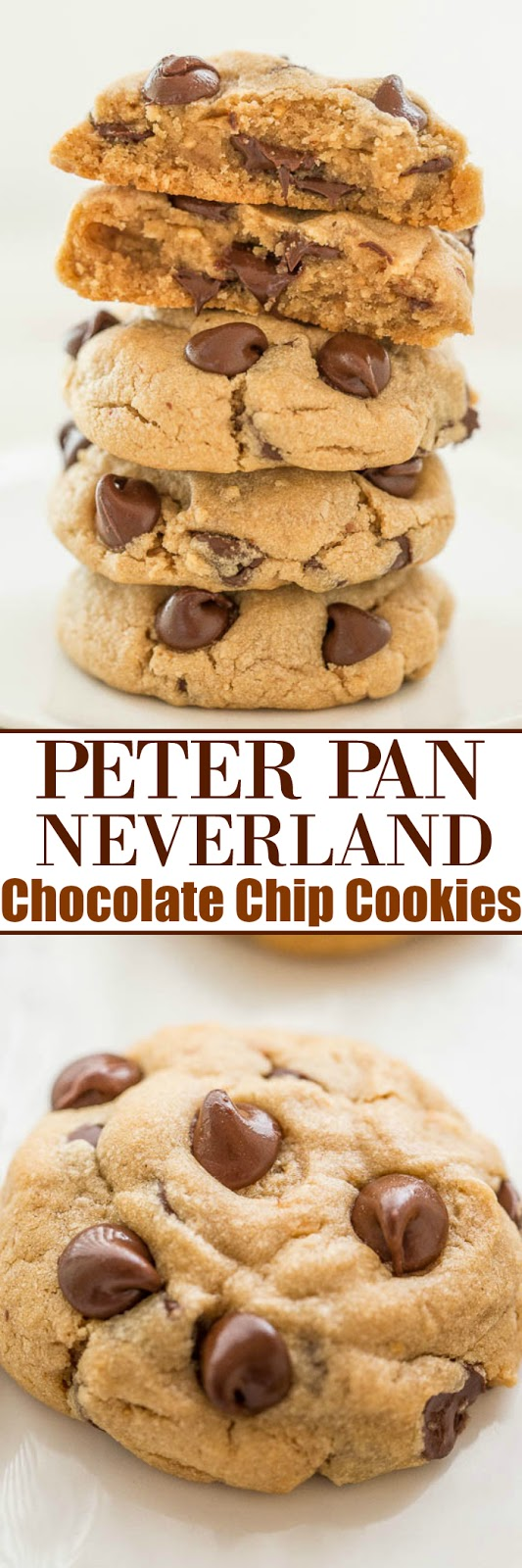 Peter Pan Neverland Chocolate Chip Cookies - Easy To Make Recipes