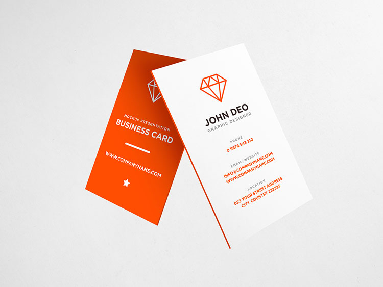 Business Card Mockup PSD Download