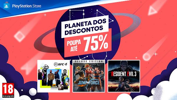 """Campanha """"Planeta dos Descontos"""" arranca hoje na PlayStation®Store"""