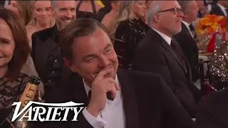 Ricky Gervais assa Leonardo DiCaprio no Globo de Ouro