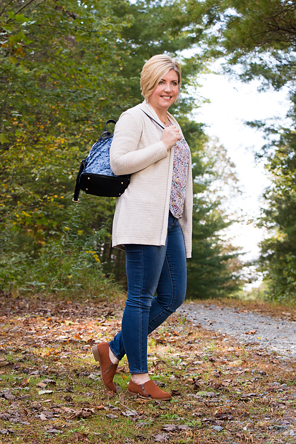 fall outfit, fall cardigan outfit