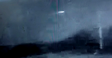 UFO Caught On Security Cam Over La Pampa - ARGENTINA