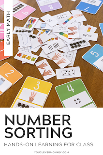 NUMBER SORTING MATS - Perfect for children learning about the different representations of number, this number sorting resource is the perfect addition to your math centers or morning work that can be used over and over and over again to help support your classroom teaching of number and all the different ways numbers can be represented. With multiple representations included for all the numbers from 1-10, pick and choose the cards you want your children to sort