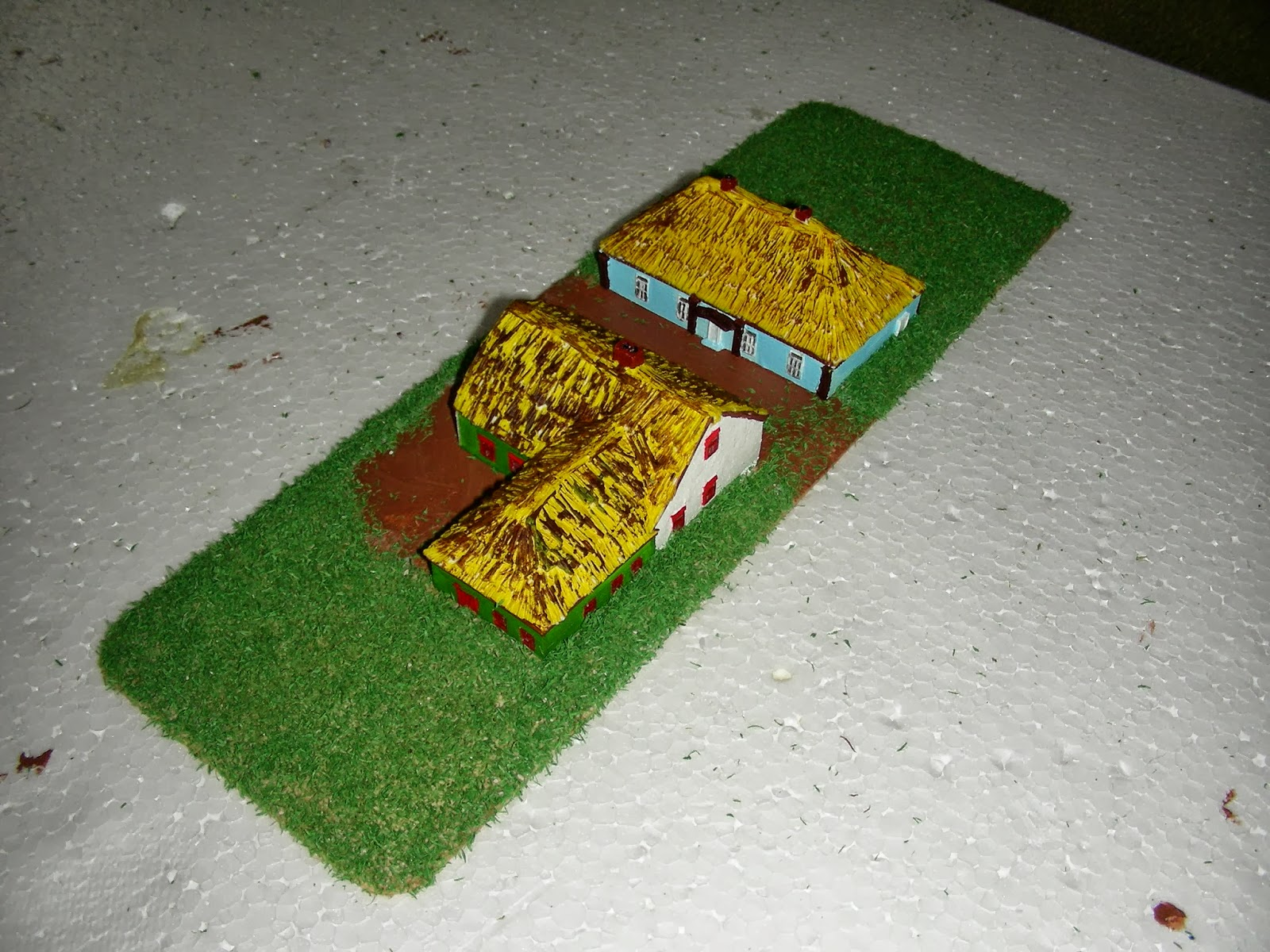 Casette Russe Di Campagna napoleonic wargame with 6mm (1/300 or 1/285) miniatures