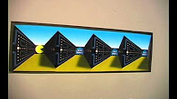 Оптичні ілюзії Pacman, Maincraft та інші