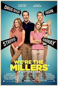 We're The Millers Hollywood Comedy Movie