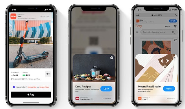 Apple's iOS 14 App Clip - the mobile spoon