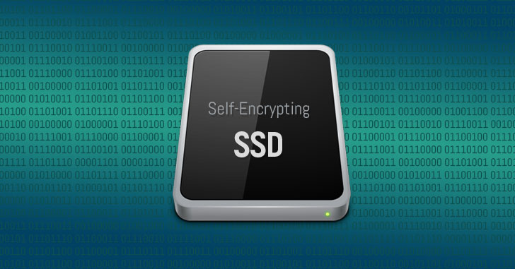 self encrypting ssd encryption hacking