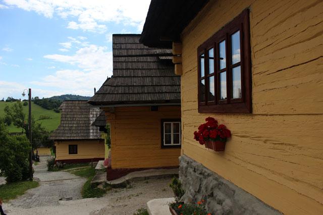 Vlkolínec, la aldea tradicional eslovaca