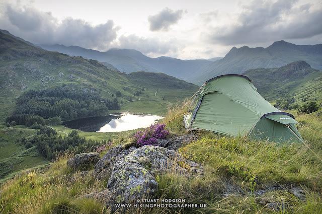wild camping, lake district, lakes, walks, best views, vango, tent, banshee 200