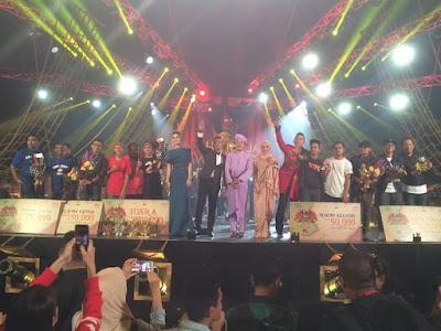 Keputusan Penuh Pemenang Maharaja Lawak Mega 2017