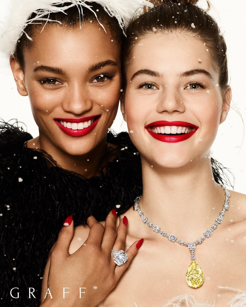 Graff Diamonds Christmas 2019 Campaign