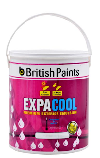 "British Paints' latest – ""ExpaCool Premium Exterior Emulsion"""