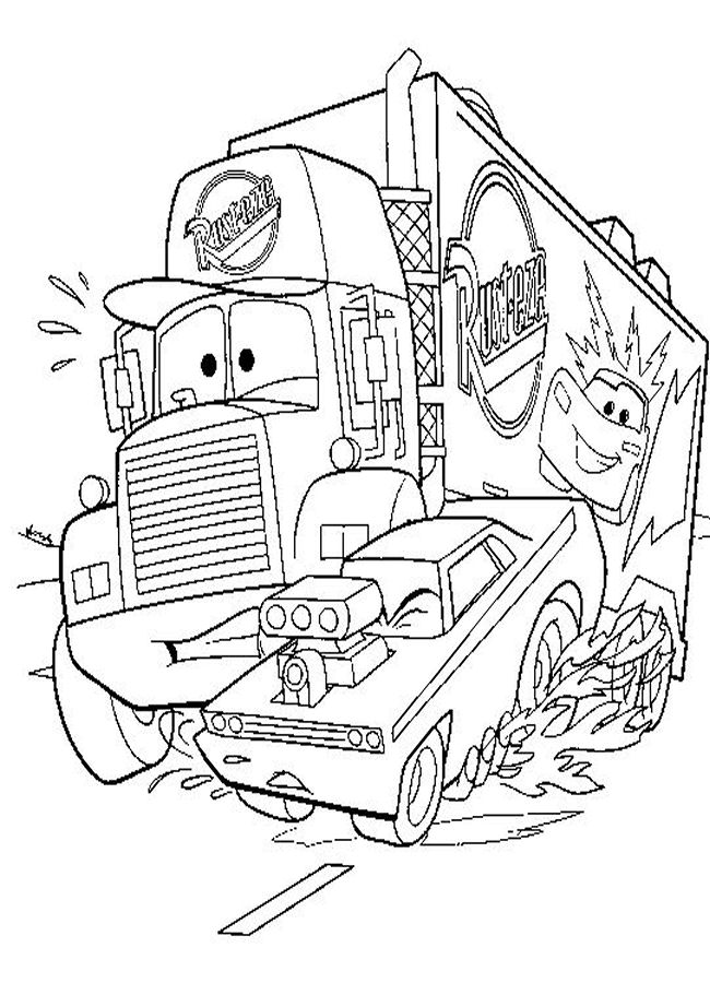 cars toons coloring pages - photo#8