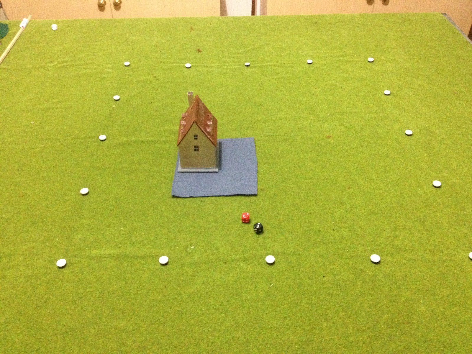 Grid based wargaming - but not always: WW2 mini-campaign rules part 4
