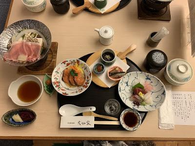 大仙家の夕食