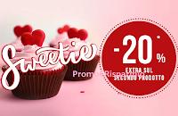 Logo Pittarello ''Sweetie 20% extra sul secondo prodotto'' ! Come ricevere lo sconto sicuro