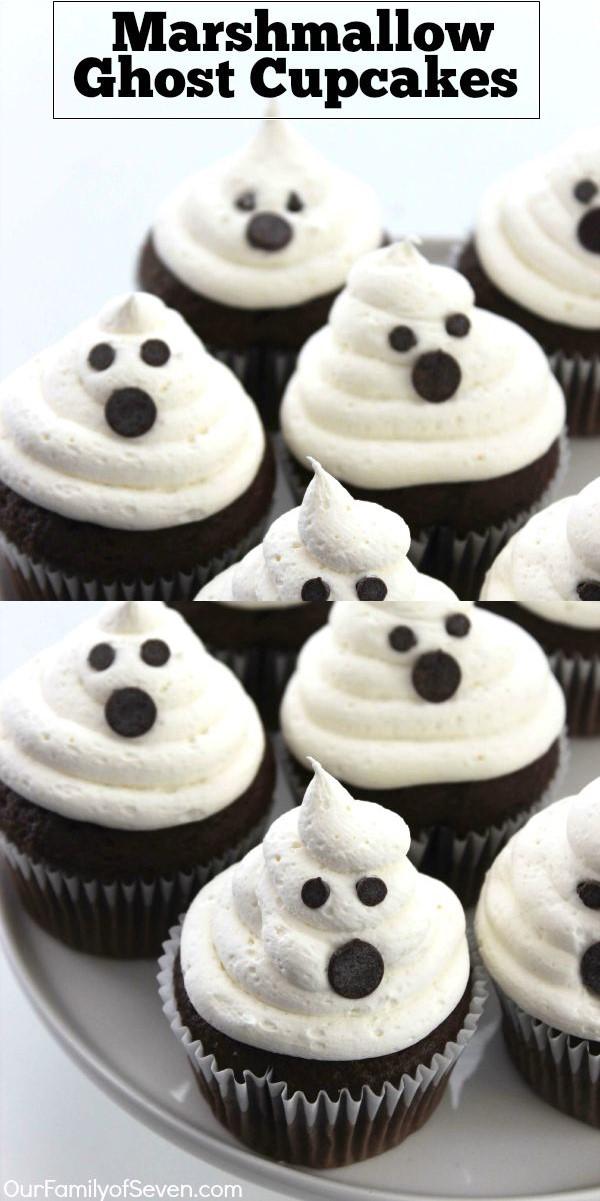 Jack Skellington Cupcakes #halloweenrecipes
