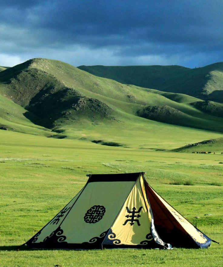 Mongolian grassland