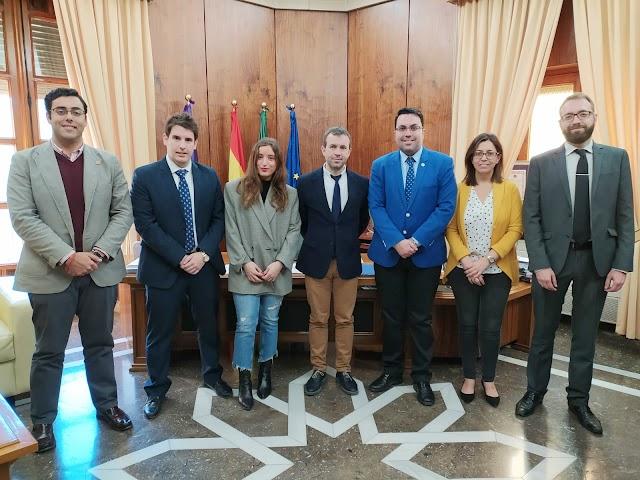 Reunión con el Ayuntamiento de Jaén