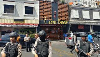 Kepolisian Gelar Rekonstruksi Bom Panci di Bandung