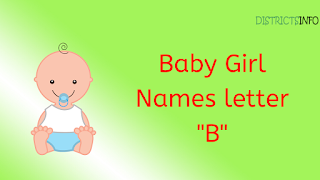 "Baby Girl Names starting with the letter ""B"""