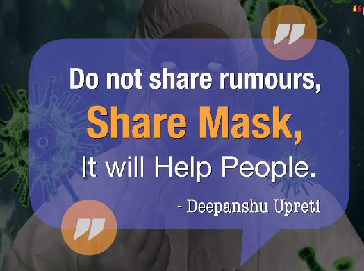 Dont Share Rumors of Coronavirus