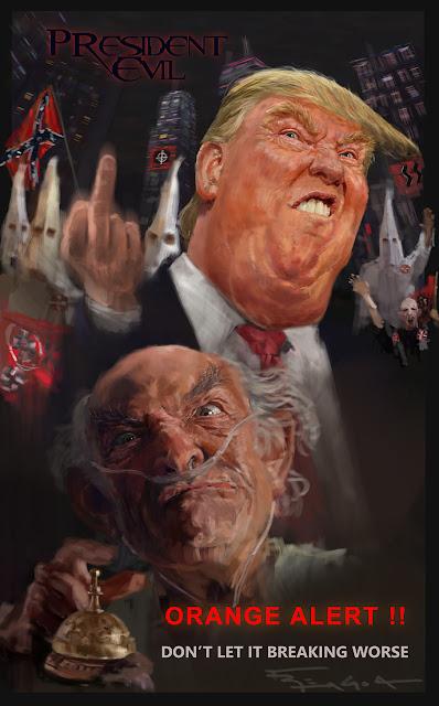 Orange alert Donald Trump Hector salamanca breaking bad