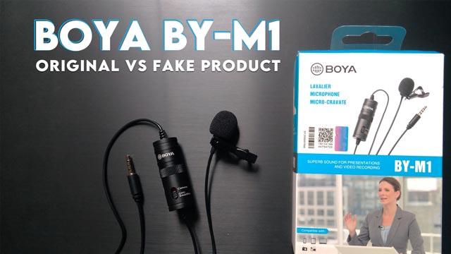 How to check Boya BY-M1 mic Authenticity? | Check Boya BY-M1 mic original vs Fake