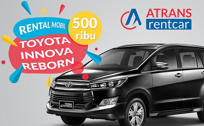 Rental Mobil Murah Jakarta Toyota Innova Reborn