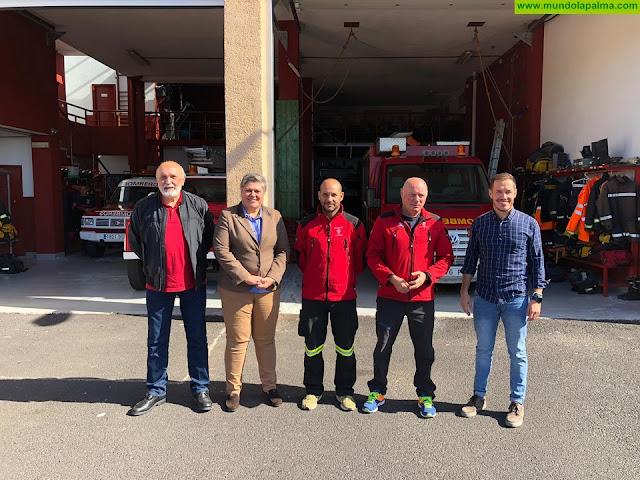 El Ayuntamiento de Los Llanos aportará 118.000 euros para mejorar la situación de los bomberos