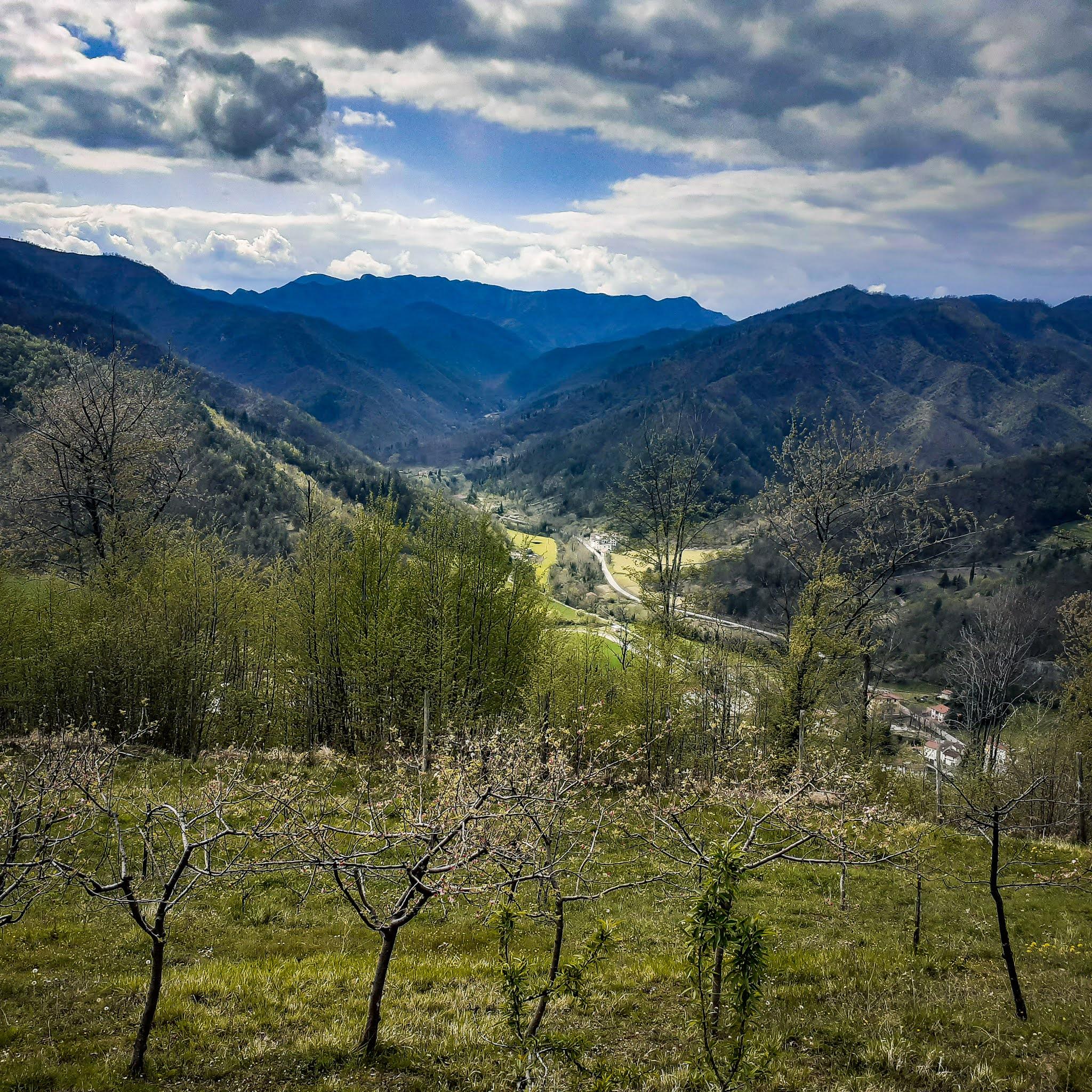Biforco, Toskania nieznana Dom z Kamienia blog