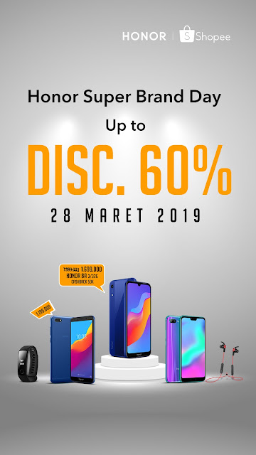 honor 8a diskon di shopee