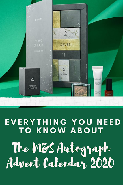 M&S AUTOGRAPH MAKEUP ADVENT CALENDAR 2020