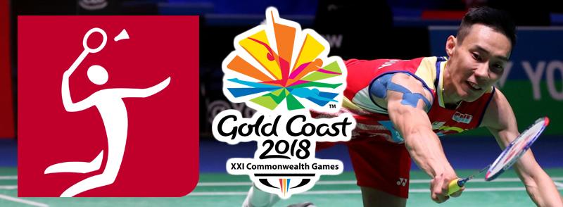 Badminton Sukan Komanwel 2018