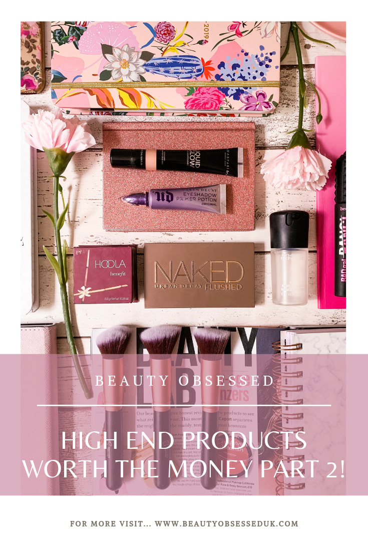 High-End Products Worth The Money Part 2 Pinterest Graphic