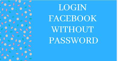Lost Facebook Password