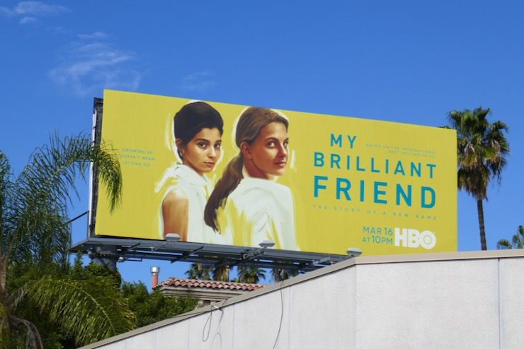 My Brilliant Friend season 2 billboard