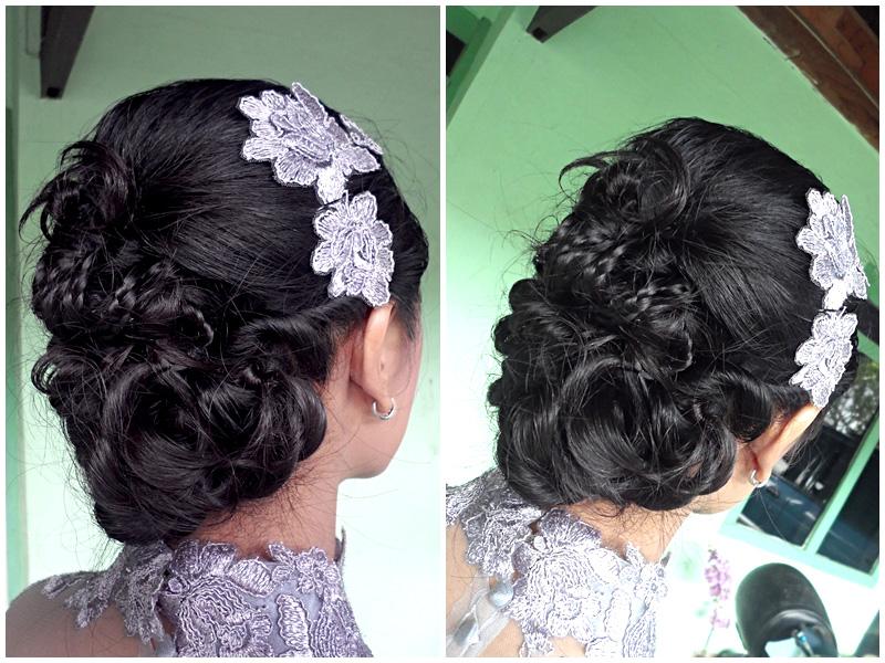 Sanggul Modern Rambut Sendiri Wisuda Bali Home Spa Info