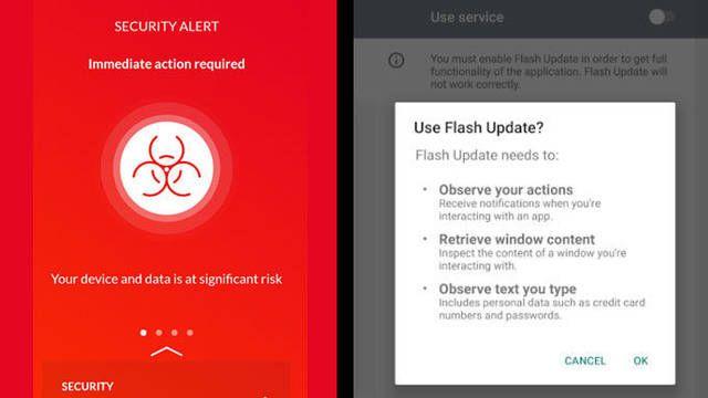 El software malicioso ataca el sistema Android. Las aplicaciones bancarias son el objetivo