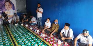 Pasangan calon Bupati Lingga Nizar-Niko saat kempanye terbatas di Desa Penuba ini yang di Sampaikan