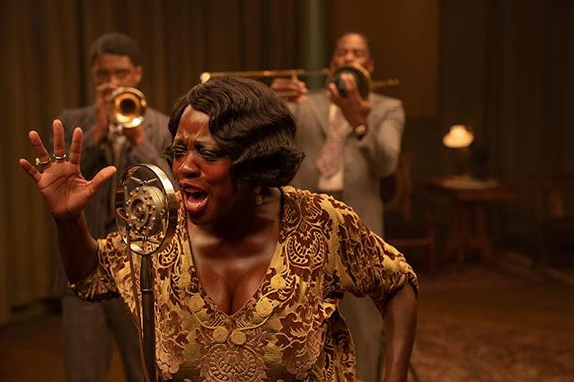 Viola Davis como Ma Rainey. Imagen de Netflix.