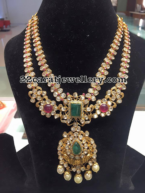 Two Layers Pachi Necklace